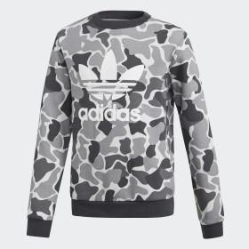 Sweat-shirt Camo Trefoil Crew