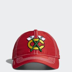 Blackhawks Adjustable Slouch Dobby Hat