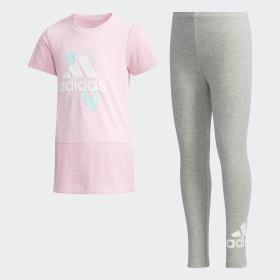 T-shirt en Legging Set