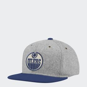 Oilers Strap-Back Cap