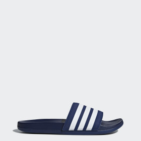 Adilette Cloudfoam Plus Stripes Slippers