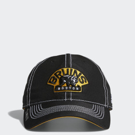 Bruins Adjustable Slouch Dobby Hat