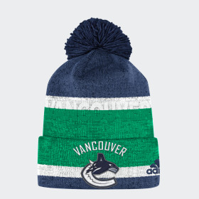 Bonnet Canucks Team Cuffed Pom