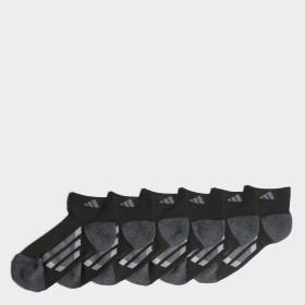 Vertical Stripe Low-Cut Socks 6 Pairs