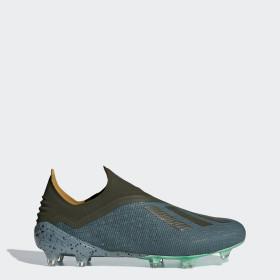 Bota de fútbol X 18+ césped natural seco