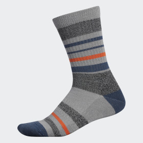 Wool Stripe Crew Socks