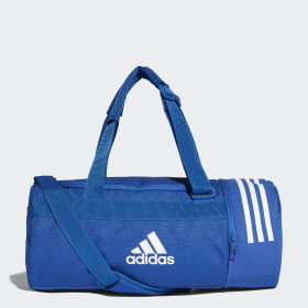 Convertible 3-Stripes Duffel Bag Small