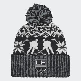 Bonnet Kings Ugly Sweater Cuffed Pom