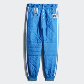Pikowane spodnie dresowe