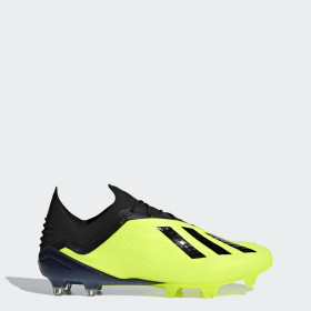 Botas de Futebol X18.1 Gareth Bale – Piso firme
