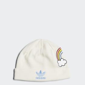 Bonnet Mini Rodini Rainbow