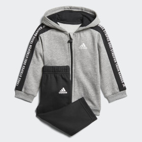 Linear Hooded Fleece Joggingpak