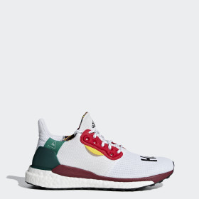 Pharrell Williams x adidas Solar Hu Glide ST Skor
