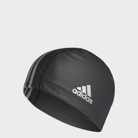 Plavecké čepice adidas coated fabric swim