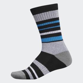 Wool Stripe Crew Socken
