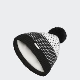 Fashion Lined Pompom Beanie