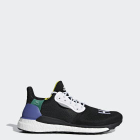 Pharrell Williams x adidas Solar Hu Glide sko