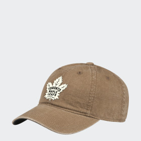 Maple Leafs Adjustable Slouch Ripstop Cap