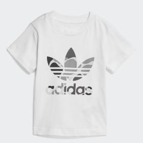 T-shirt Camo Trefoil