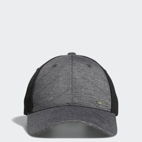 Quilted Mesh-Back Hat