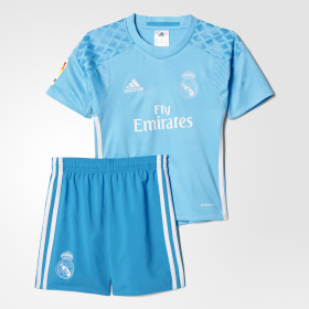 Real Madrid Home Goalkeeper Mini Kit