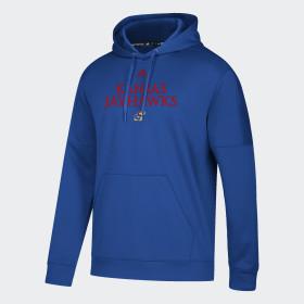 Jayhawks Sideline Fleece Hoodie