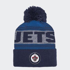 Bonnet Jets Cuffed Pom Knit