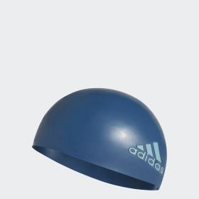 silicone logo swim cap