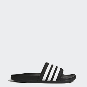 Sandale Adilette Cloudfoam Plus Stripes