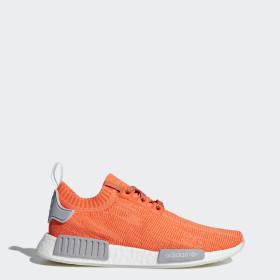 adidas nmd bleu orange