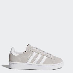 adidas Campus schoenen grijs wit