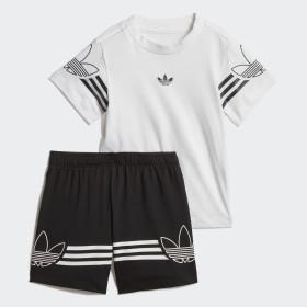 85883f14c110d Conjunto camiseta y pantalón corto Outline ...