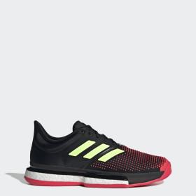 Adidas Dam Adizero Ubersonic 3 Boost Running Tennis Skor