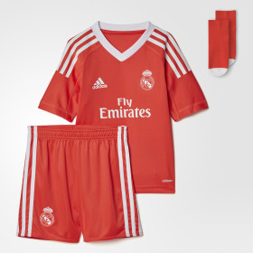 Miniconjunto portero segunda equipación Real Madrid ... 4d0573acfe28c