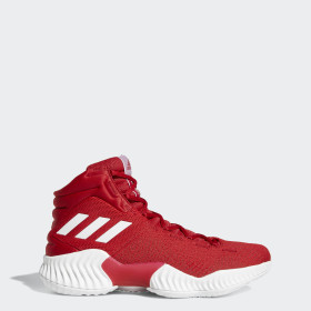 Red Basketball Shoes Adidas Us