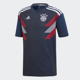 FC Bayern Home opvarmningstrøje