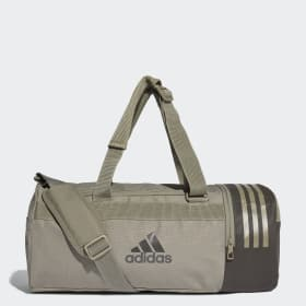 Convertible 3-Streifen Duffelbag S