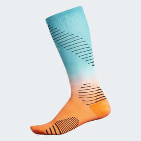 Running Dip-Dye Over-The-Calf Socks