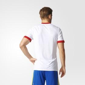 Camiseta calentamiento primera equipación España