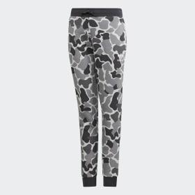 Pantaloni Camo Trefoil