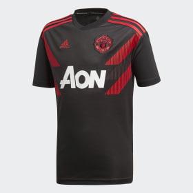 Manchester United Home opvarmningstrøje