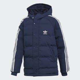 Trefoil Synthetic Down Jacket