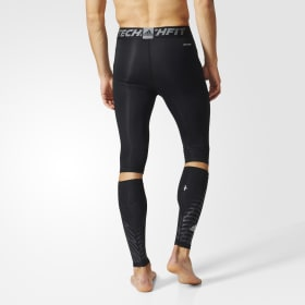 Techfit Recovery 3-in-1 korte tights og lægvarmere