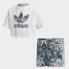 Zoo Shorts and Tee Set