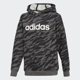 Sweat-shirt à capuche Linear