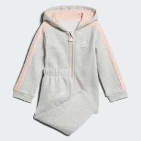 Ensemble bébés Linear Hooded Fleece