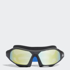 Plavecké okuliare adidas persistar 180 mask mirrored