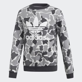 Sweat-shirt Camo Trefoil Crew