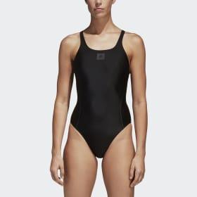 adidas essence core solid swim suit