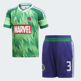 Marvel Hulk fodboldsæt